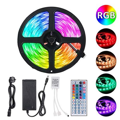Tira Led RGB 5M 300 led SMD 5050 + 44 TECLAS + ADAPTADOR 12v 5A