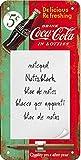 Nostalgic-Art Lavagnette Promemoria, Metallo, Multicolore, 2 x 1...