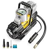 AstroAI Luftkompressor, Geschenke für Männer, Elektrische Luftpumpe Mini Kompressor Tragbare Auto Luftpumpe 12V