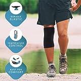 Zoom IMG-2 actesso ginocchiera ortopedica elasticizzata ginocchio