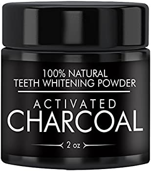 Activated Charcoal Natural Teeth Whitening Powder (2 oz)