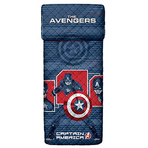 Captain America Avengers Marvel Bassetti M839 Tagesdecke für Einzelbett