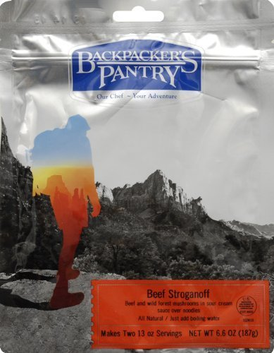 Backpacker's Pantry Stroganoff Sauce mit Rind von Backpacker's Pantry