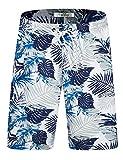 Short de Bain pour Homme Short de Bain à séchage Rapide Short de Surf Beach Board avec Cordon de...
