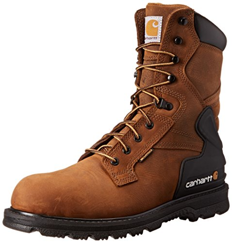 Carhartt Men's CMW8100 8 Work Boot,Bison Brown Oil Tan,10 M US