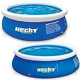 Großer HECHT Quick Up Pool Familienpool – 360 x 90 cm und 300 x 76 cm zur Auswahl –...