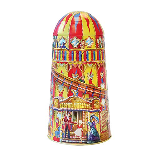 Churchill's English Toffee in a delightful helter skelter storage tin.