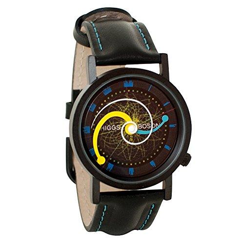 Higgs Boson Large Hadron Collider Unisex Analog Watch
