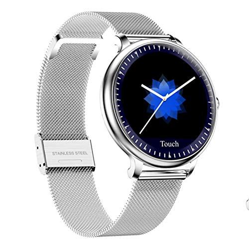 ZYD 2020 Nouveau Smart Femmes Montre Femme Bracelet pour Cardiofréquencemètre IP67 Smartwatch Imperméable pour Les Femmes pour iOS Android,B