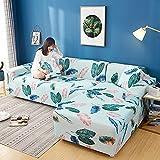 WXQY Fundas de impresión 3D Fundas de sofá elásticas elásticas Protección para Mascotas Funda de sofá Esquina en Forma de L Funda de sofá con Todo Incluido A24 3 plazas