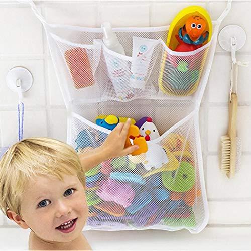 Zippem Large Capacity Mesh Children Baby Bathroom Toy...