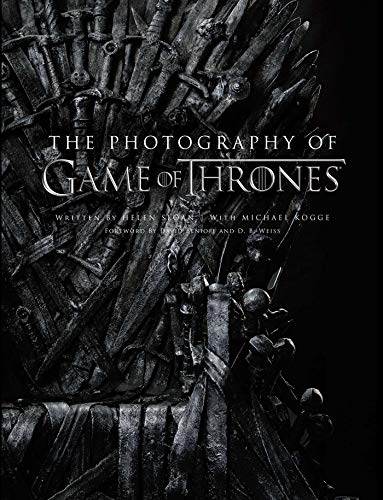 The Photography of Game of Thrones, the official photo book of Season 1 to Season 8