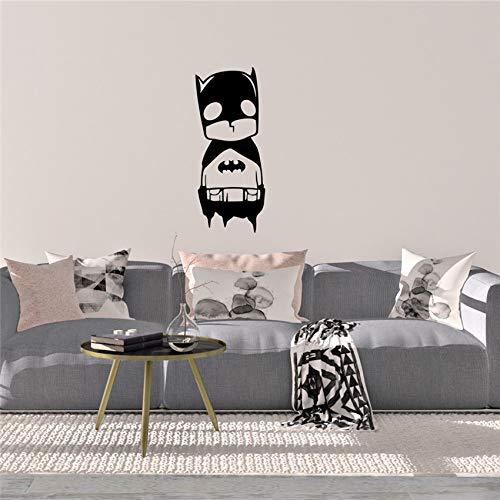 yaonuli Bat Design Wandkunst Aufkleber Vinyl Wandaufkleber Leben Cartoon Poster Art Deco Wohnkultur Wandaufkleber 61x144 cm