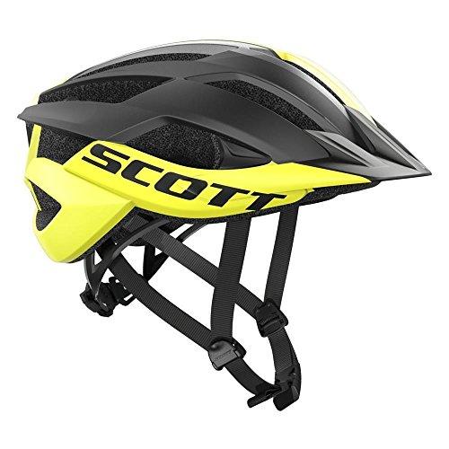 Scott Arx Mountainbike-Helm M gelb