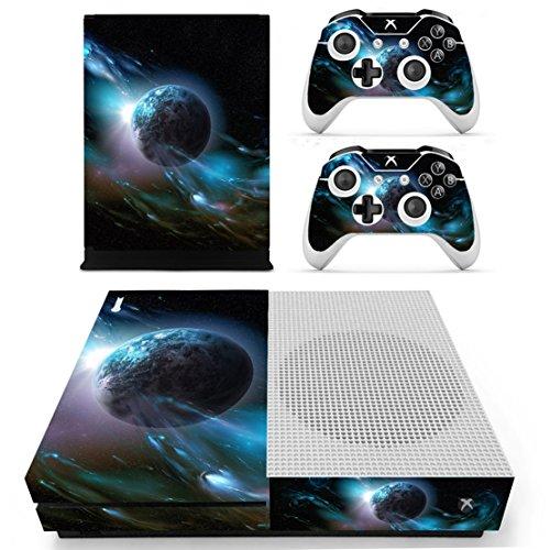 DOTBUY Vinile modello skin sticker decalcomanie della pelle per Xbox One S Console & Wireless Controller (Dark Earth)