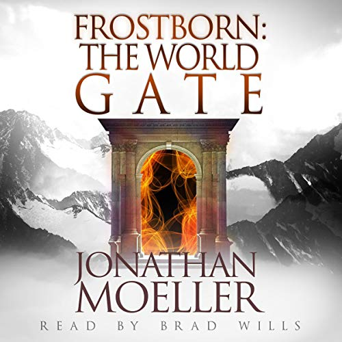 Frostborn: The World Gate audiobook cover art
