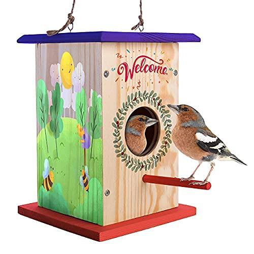 LATI TOYS Premium DIY Birdhouse kit for Kids to Build ; Easy to Make...