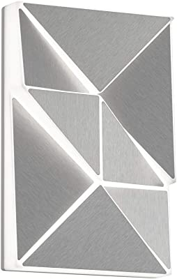Trio Leuchten Trinity 274813005 Applique murale LED en plastique Blanc/titane 10 W