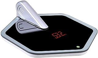 HJTLK Báscula de baño Digital, balanza electrónica Balanza electrónica Báscula doméstica compacta para el Peso Corporal Peso Exacto de la Mujer Medición
