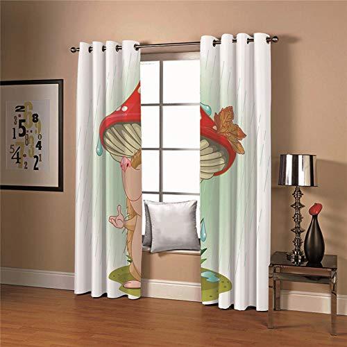 cortinas salon dibujos