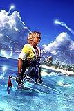 Final Fantasy CGC Huge Poster X Tidus PS2 PS3 PS4 Vita - FFX007 (24' x 36' (61cm x 91.5cm))