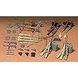 TAMIYA 35111 35111-1:35 Diorama-Set Deutsche Waffen Infanterie(24), Modellbau, Plastik Bausatz,...