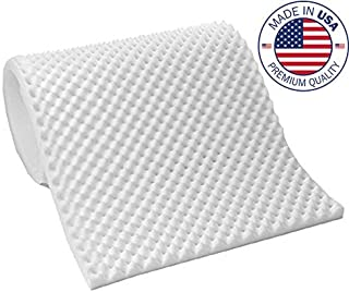 Vaunn Medical Egg Crate Convoluted Foam Mattress Pad - 2.5