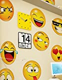 Emoji Icons Faces Wall Stickers Decal #6052 (10in X 10in Emoji Faces)
