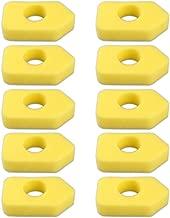 Kaymon 698369 Air Filter Foam Element for Briggs & Stratton 4216 5086K 5088 5088H 5099 MTD 490-200-0011 9B902 98902 98982 10A902 10B902 3.5 Thru 4.5 HP Lawn Mower Engine Motors (10 Pack)
