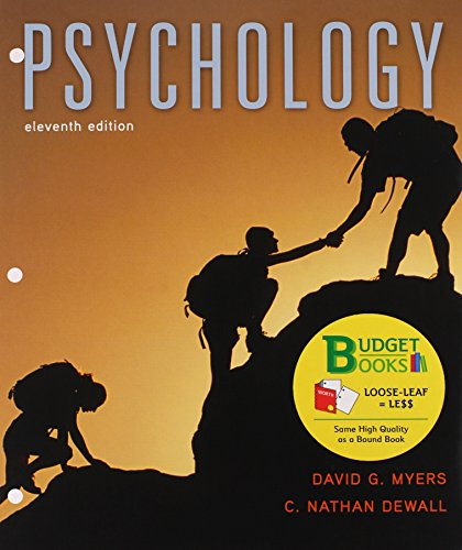 Loose-leaf Version for Psychology 11e & LaunchPad for Myers' Psychology 11e (Six Month Access)