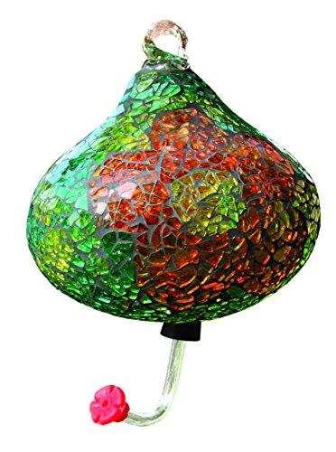 Gardman Vert mosaïque en Forme de Larme Hummingbird Feeder Vert