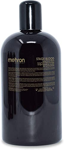 Mehron Makeup Stage Blood (16 oz) (Dark Venous)