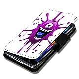 wicostar Book Style Flip Handy Tasche Hülle Schutz Hülle Schale Motiv Foto Etui für Wiko Jimmy - A51 Design9