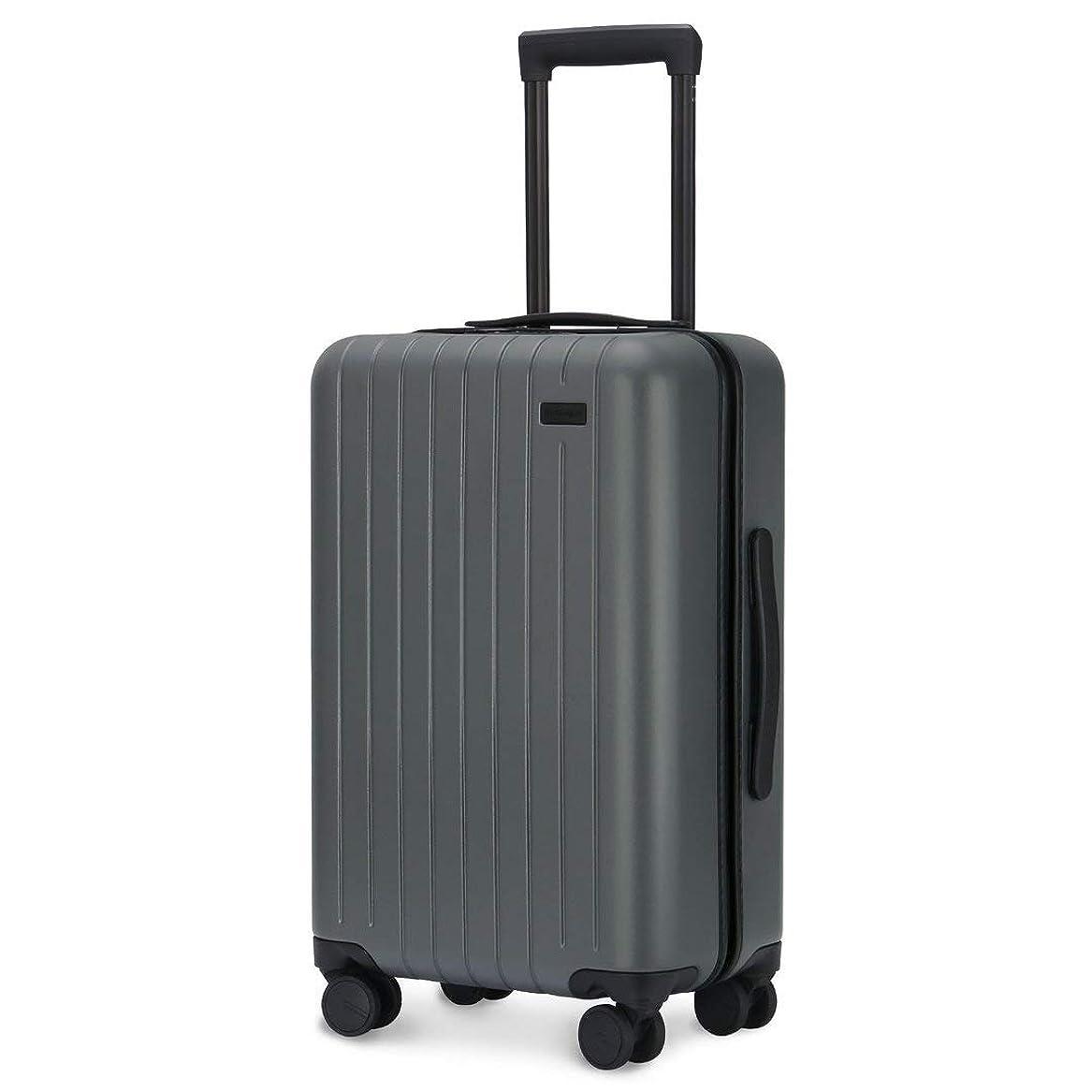 溶接スキム検出GoPenguin スーツケース, 機内持込 キャリーケース 4輪 静音, ハード PC スーツケース 小型 TSAロック搭載