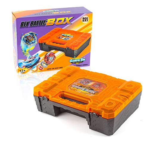 ROKK NOW Gaming Top Storage Case for Beyblades & Bey Battle Burst Blades - Beyblades and Launchers Not Included