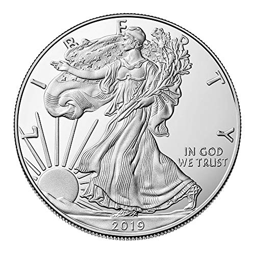 United States Mint - Moneda de Plata de 1 oz, águila Plateada