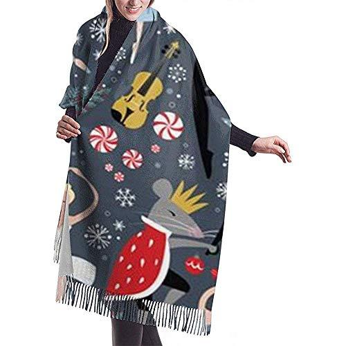Laglacefond notenkraker vrouwen sjaal-winter-verpakking-kop-sjaaltjes