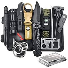 Unique Gifts for Men Who have everything: Christmas Day is fast approaching and we know it can be hard to choose the cool present for dad from daughter son who is outdoor lover. This Survival Gear will brings smile to their face and they are sure to ...