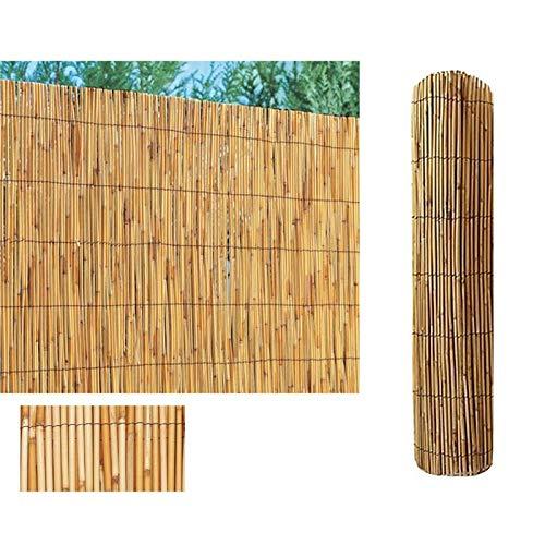 COMERCIAL CANDELA FELPUDOS Y ALFOMBRAS Cañizo de Bambu Pelado (Bambú, 1,5x5 Metros)
