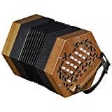 Trinity College ap-1230 30-button anglo-style Concertina – Noyer