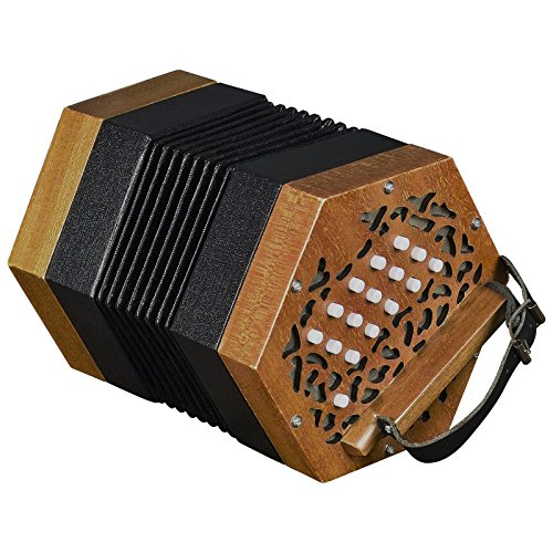 Trinity College AP-1230 Anglo-Style Concertina,Walnut