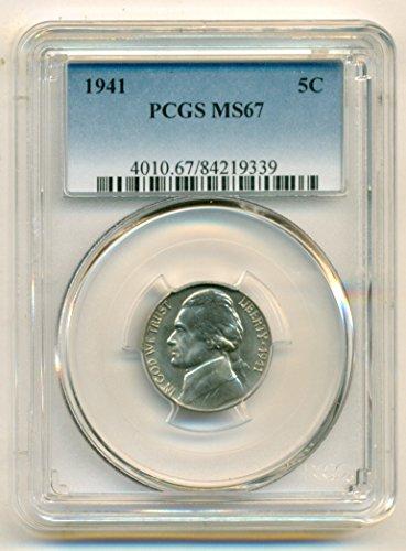 1941 Jefferson Nickel MS67 PCGS