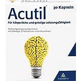 Acutil Kapseln für körperliche und geistige Leistungsfähigkeit, 30 St. Kapseln