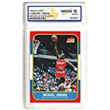 1996-97 MICHAEL JORDAN FLEER DECADE OF EXCELLENCE ROOKIE CARD #4