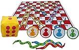 GMYQ Interaction - Juego de juguetes divertidos de serpiente y escalera para niños al aire libre, adecuado para niños de 5 a 18 años-2 piezas