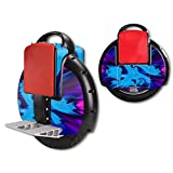 MightySkins Skin Compatible with Airwheel X3 Self Balancing one Wheel Electric Unicycle Scooter wrap Cover Sticker Fractal Abstract