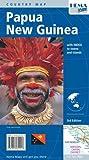 Carte routière : Papouasie Nouvelle-Guinée (en anglais)