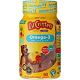 L'il Critters Omega-3 Gummy Fish 60 Each (Pack of 9)
