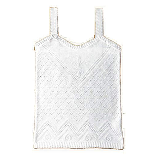 DIACAR 491-80/camiseta Tirantes Niña de Perle (Blanco, 4)