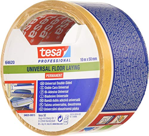 Tesa UK Ltd-Nastro per la posa di pavimento, 10 x 50